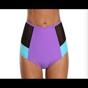 Other - Sale⚡️Colorful High Waisted Bikini Bottoms